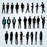 People team. Group of businessmen and businesswomen Royalty Free Stock Photography