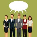 People team work communication talking Royalty Free Stock Photo