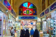 People Tehran Grand Bazaar. Iran Royalty Free Stock Photography