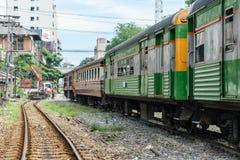 People on the Thai train Stock Photo