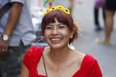 People of Bangkok Royalty Free Stock Images