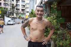People of Bangkok Royalty Free Stock Photography