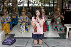 People of Thailand Royalty Free Stock Photography