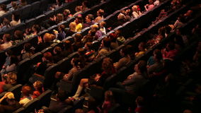 People at the theatre performance. Stock Images