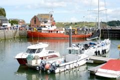 Padstow marina Royalty Free Stock Photography