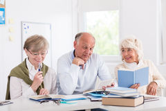 People in their third age Stock Image