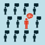 People thinking design Stock Photos