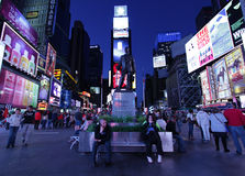 People in Times Square, NY Royalty Free Stock Photography