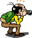 People to take pictures Stock Image