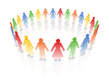 People together Royalty Free Stock Photos