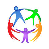 People together logo Stock Images