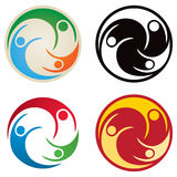 People Together Logo vector illustration