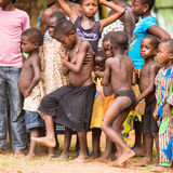 People in Togo, Africa Royalty Free Stock Photography