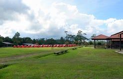 PhuKradueng national park. People tourist at phuKradueng national park thailand stock photography