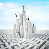 People tower Royalty Free Stock Photo