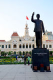 People travel at Ho Chi Minh Square Royalty Free Stock Images