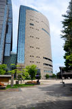 People travel at Tower Osaka Museum of History Royalty Free Stock Photos