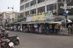 People travel and walking Khaosan Road Stock Image