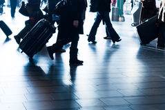 People traveling Royalty Free Stock Images