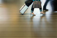 People traveling at the airpor Stock Photo