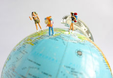 People Travelling around The World Royalty Free Stock Images