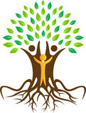 People tree. A vector drawing represents people tree design vector illustration
