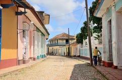 People in Trinidad, Cuba Stock Image