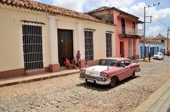 People in Trinidad, Cuba Royalty Free Stock Photos