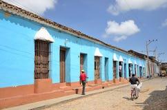 People in Trinidad, Cuba Royalty Free Stock Photo