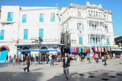 People in Tunis Royalty Free Stock Images