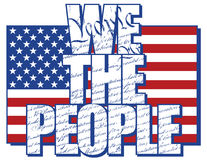 We The People Royalty Free Stock Photography