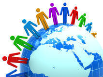 People Unity Stock Photography