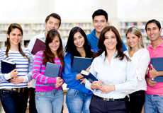 People at the university Royalty Free Stock Images