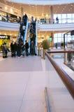 People using escalator Stock Image