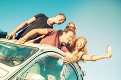 People on vacations Royalty Free Stock Images