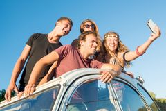 People on vacations Royalty Free Stock Photos