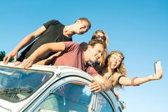 People on vacations Royalty Free Stock Photography