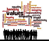 People values. Lots of positive and responsible values