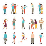 People in various lifestyles Royalty Free Stock Photos