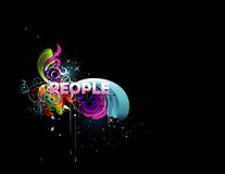 People vector illustration Royalty Free Stock Images