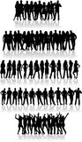 People - vector work Stock Photo
