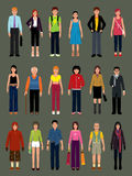 People Vectors Stock Images