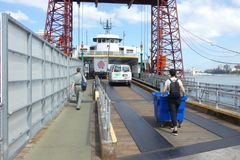 Governors Island Ferry Royalty Free Stock Photo