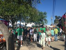 Irish Festival Street Party Stock Image