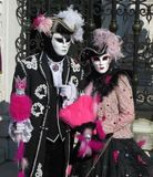People,venice carnival mask stock image