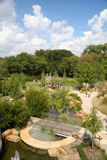 People visit adventure garden at Dallas arboretum. People visit children adventure garden at Dallas arboretum, TX USA Royalty Free Stock Photo