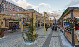 Christmas fair in Kiev, Ukraine. Stock Images