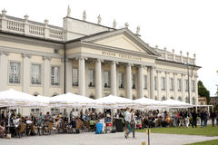 People visit the Fridericianum Stock Photography