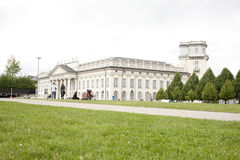 People visit the Fridericianum Royalty Free Stock Image