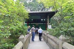 People visit guangzhou xianxian ( salaf ) mosque Royalty Free Stock Photo